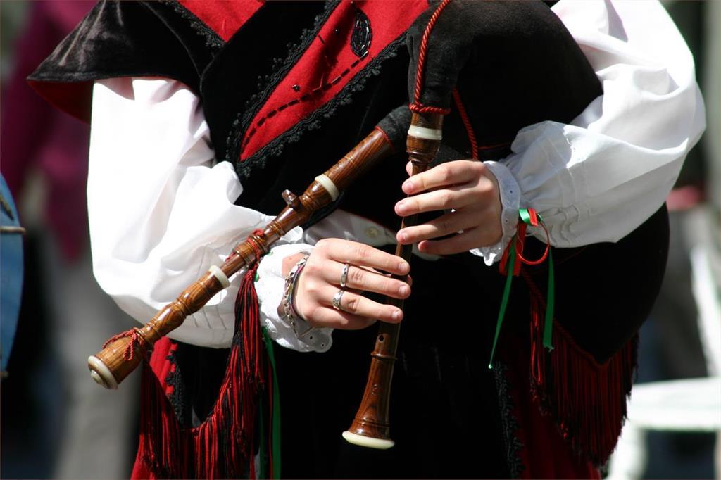 Grupo de gaitas Alecrín (Monforte de Lemos)