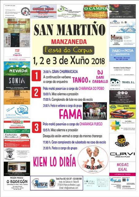 coemusic festas corpus 2018 san martiño manzaneda