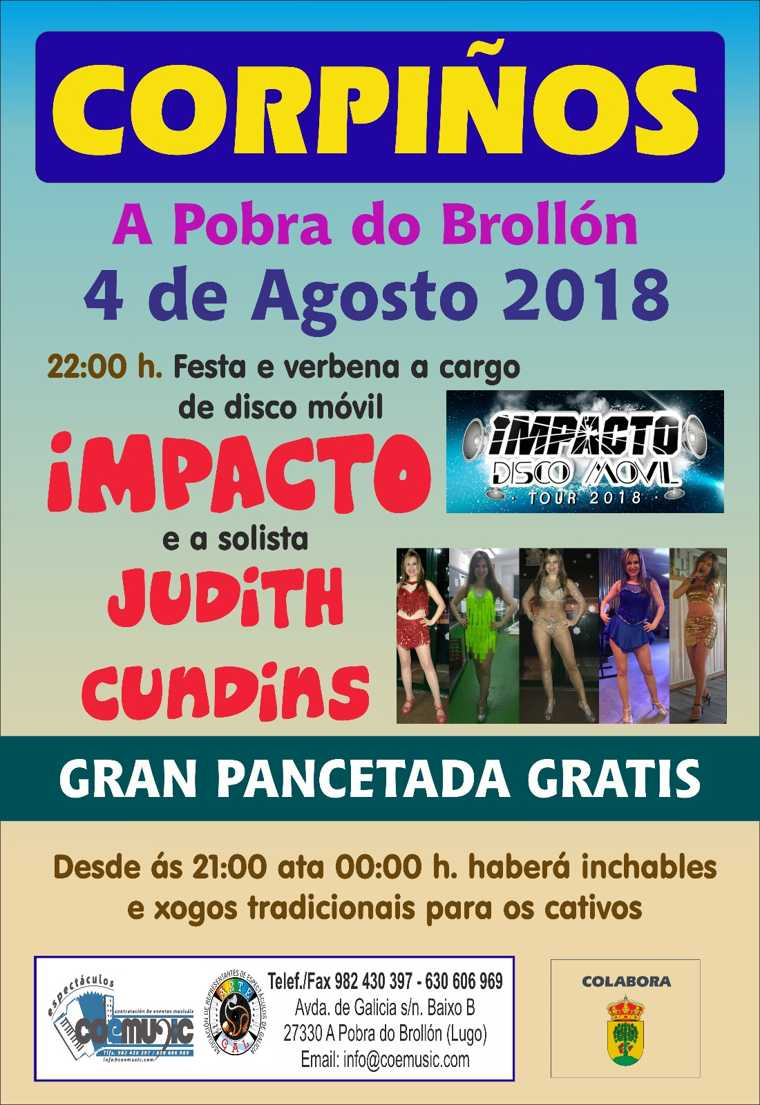 coemusic corpinos 2018 pobra do brollon