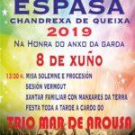 coemusic festas 2019 anxo da garda a espasa chandrexa de queixa