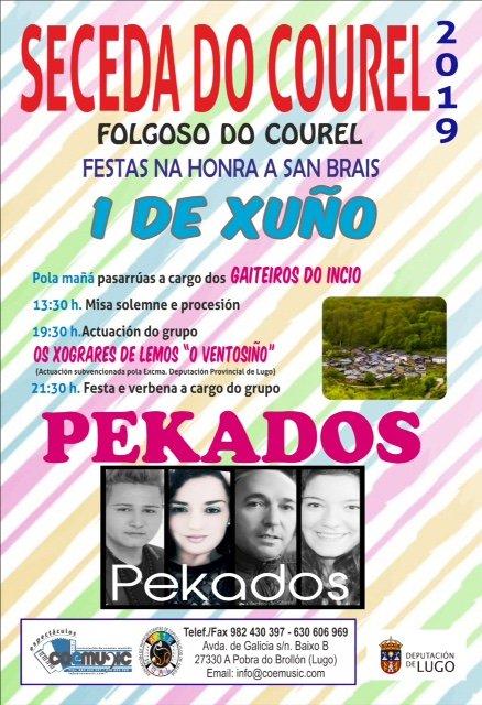 coemusic festas 2019 san brais seceda do courel