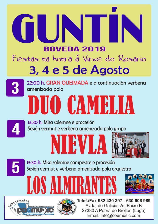 coemusic festas vrixe do rosario 2019 guntin boveda
